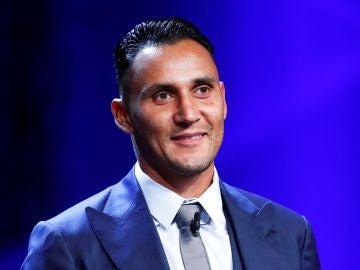 Keylor Navas, mejor portero de la Champions