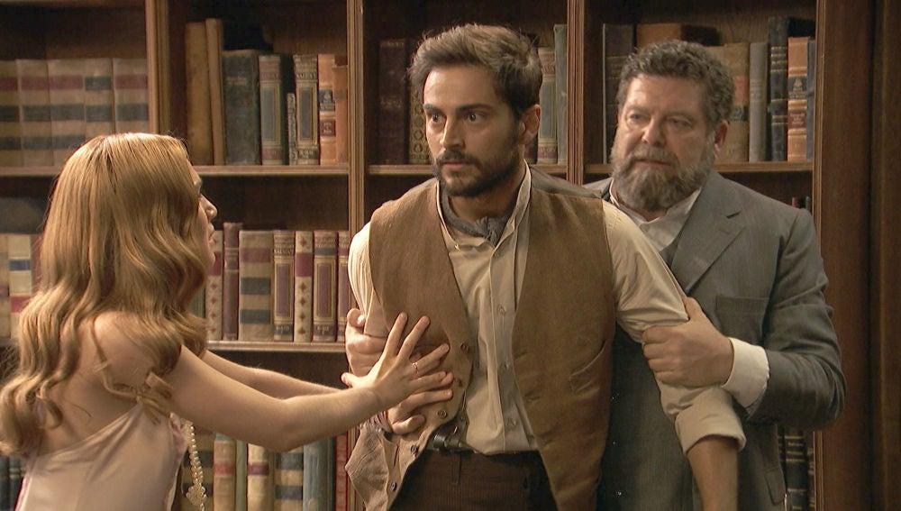 """Saúl se enfrenta a Fernando: """"¿Dónde están Francisca y Raimundo?"""""""