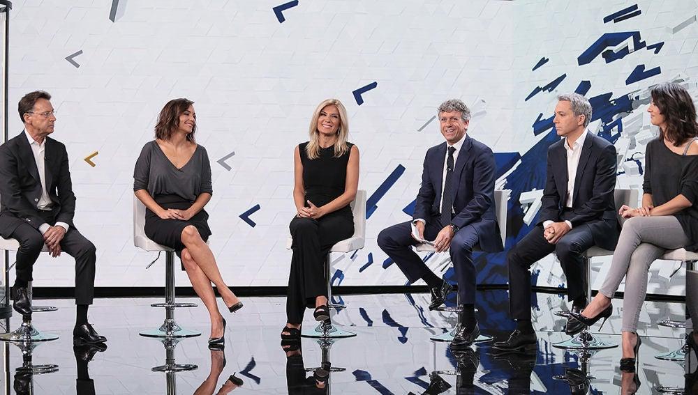 Rueda de prensa de Antena 3 Noticias 2018