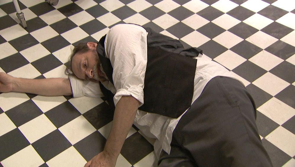 Raimundo, inconsciente tras una brutal paliza en el sanatorio