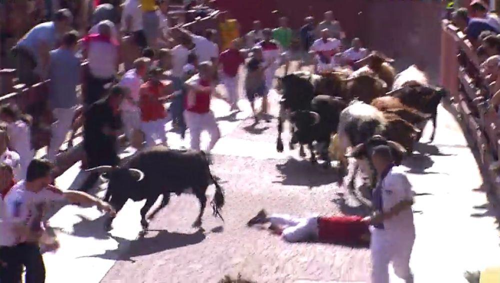 Chapo Apaolaza corre por primera vez en los encierros de San Sebastián de los Reyes