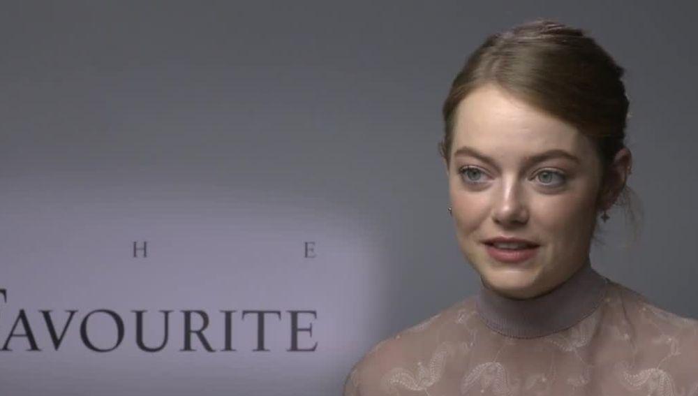 Emma Stone presentado 'La favorita'