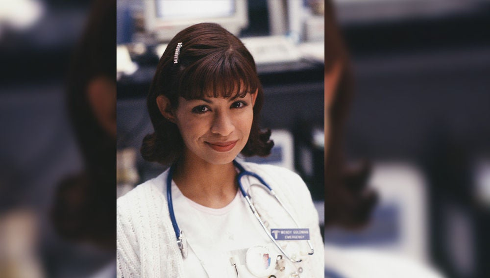 Vanessa Marquez era Wendy Goldman en 'Urgencias'