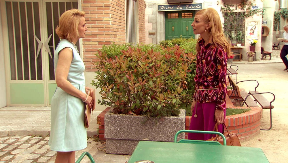 Matilde y Mariola se enfrentan en la Plaza de los Frutos