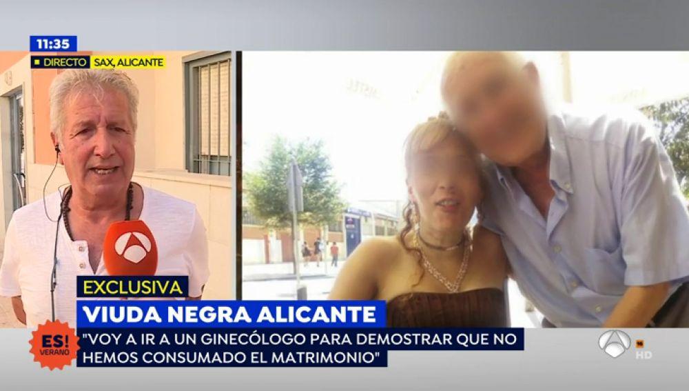 La 'viuda negra' quería demostrar que no consumó su matrimonio para divorciarse del marido al que habría asesinado