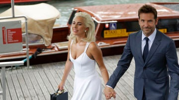 Lady Gaga y Bradley Cooper en el Festival de Venecia