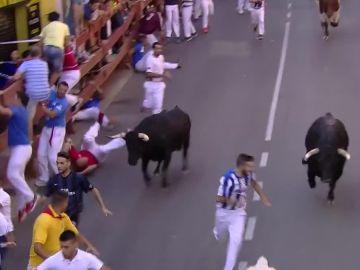 Cuarto encierro en San Sebastián de los Reyes
