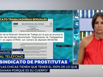 """La opinión de una prostituta sobre la impugnación del sindicato de trabajadoras del sexo: """"No se puede permitir esta explotación"""""""