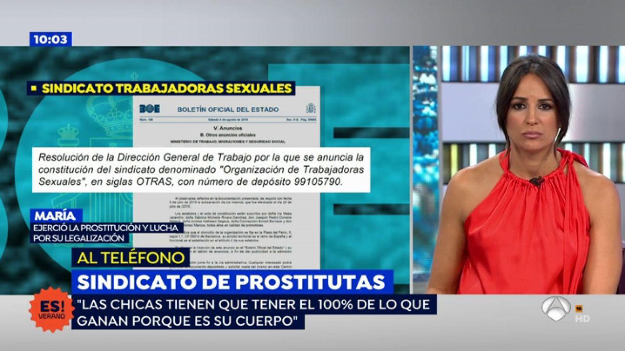 La Opinion De Una Prostituta Sobre La Impugnacion Del Sindicato De