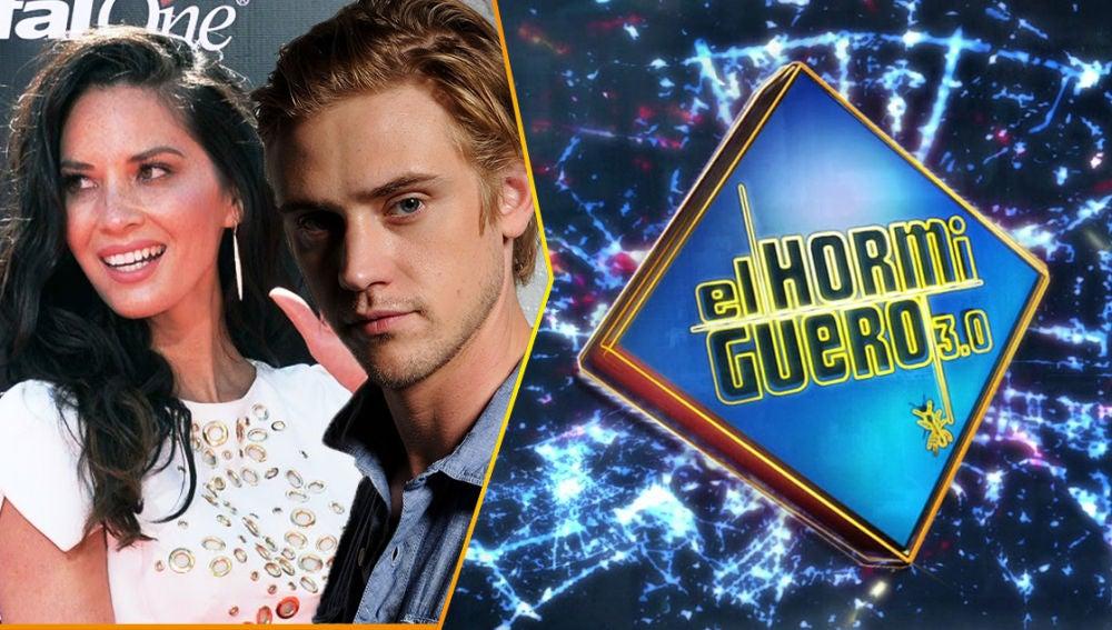 Boyd Hoolbrook y Olivia Munn visitarán a Pablo Motos en 'El Hormiguero 3.0' el próximo martes 4