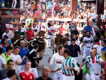 Tercer encierro en San Sebastián de los Reyes
