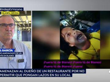 """Amenazan al dueño de un restaurante por negarse a poner lazos: """"Fuera de Blanes, a la puta España"""""""