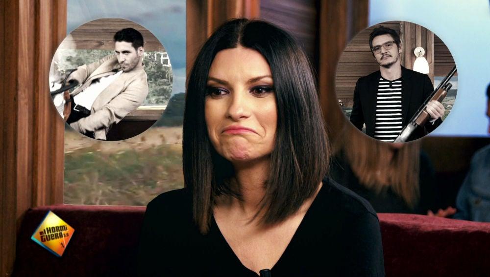 ¿Habrá visto Laura Pausini algún sospechoso sobre el 'Asesinato en El Hormiguero Express'?