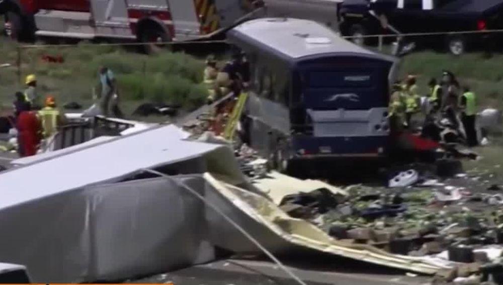 Accidente Nuevo México
