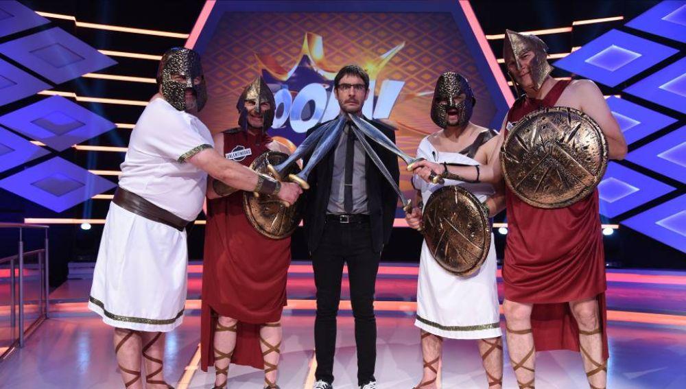 '¡Boom!' hace historia en la televisión mundial: 'Los Lobos' cumplen 300 programas