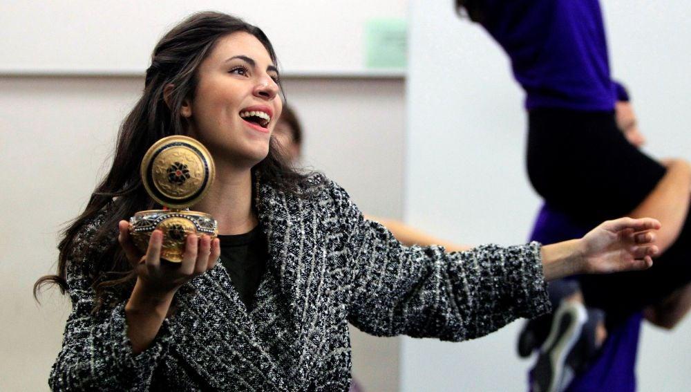 La actriz y bailarina Jana Gómez durante la presentación del musical de Broadway 'Anastasia'