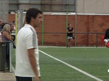Raul González estrena su primera victoria como entrenador del Cadete B