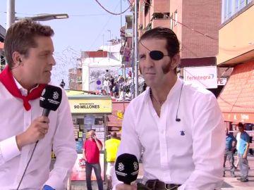 """Encierros de Sanse 2018 - Juan José Padilla, sobre los encierros: """"Se pasa mucho miedo porque la carrera no depende de ti"""""""
