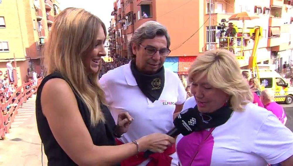 Entrevista de Beatriz Solano a los pregoneros de San Sebastián de los Reyes