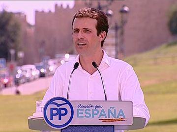 """Pablo Casado: """"La realidad del socialismo español es entregar el gobierno a un frente popular nacionalista y populista"""""""