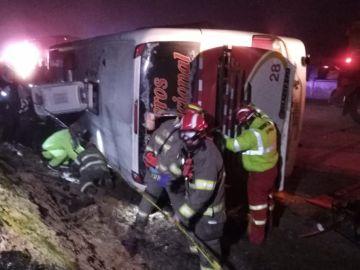 Accidente del autobús en Cuenca, Ecuador