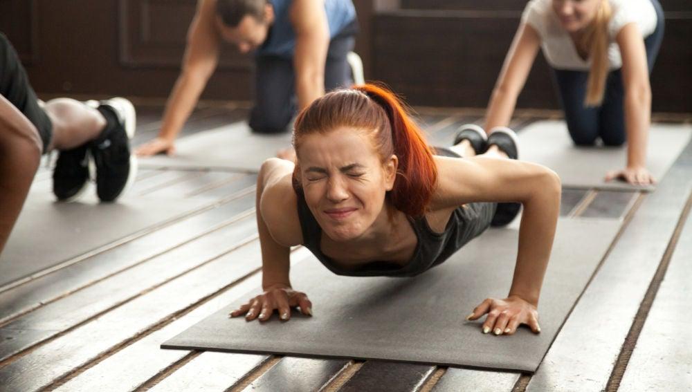 Agujetas tras un duro día de ejercicio