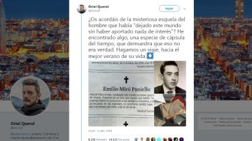 Hilo de twitter de Oriol Querol