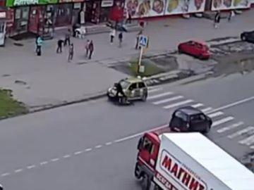 Atropello en Rusia
