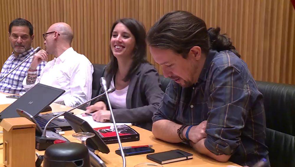 Pablo Iglesias retoma la actividad con su presencia en la Ejecutiva de Podemos
