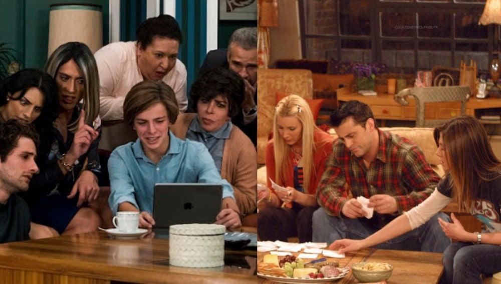 'Friends' y 'La Casa de las Flores'