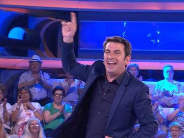 """Arturo Valls quiere """"bailar toda la noche"""" en '¡Ahora Caigo!'"""