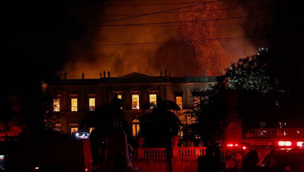 Incendio en Río de Janeiro