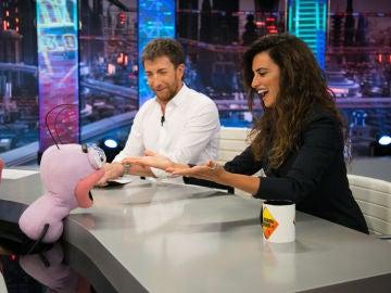 Trancas y Barrancas someten a Penélope Cruz a un 'test de pe-rsonalidad'