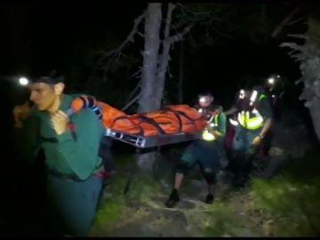 La Guardia Civil rescata a una montañera lesionada en el descenso de un pico en Benasque (Huesca)