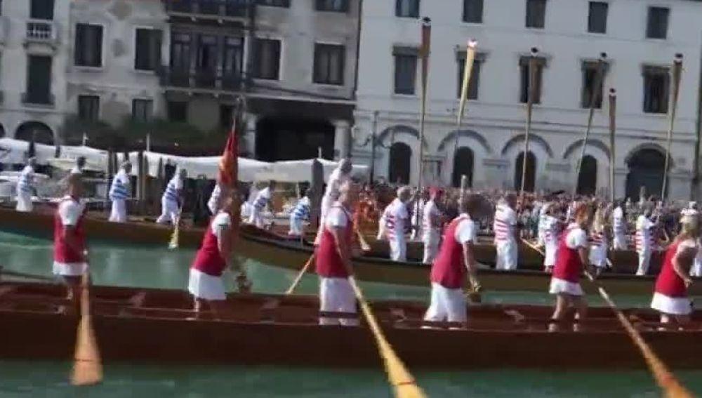 Regata en Venecia