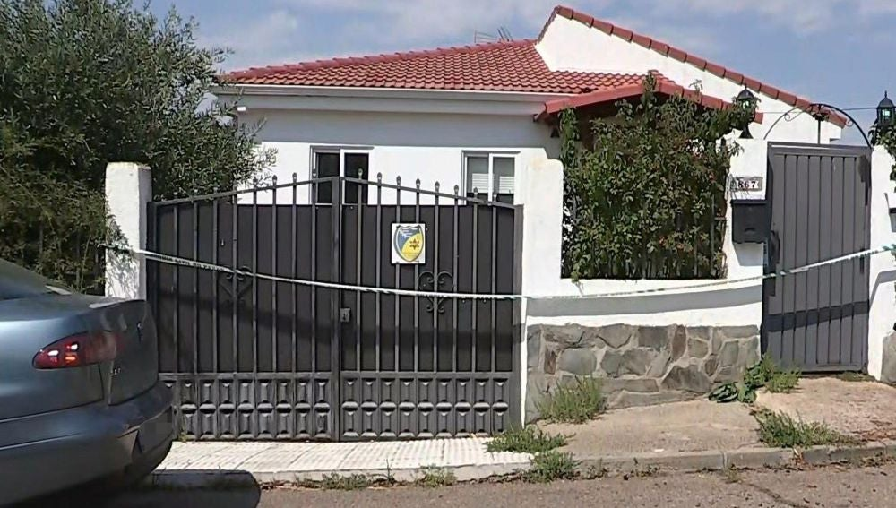 Vivienda de El Casar donde fue detenida la presunta autora del crimen
