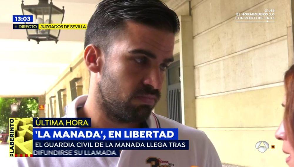 """El guardia civil de 'La Manada': """"Llevamos dos años soportando esto, uno se acostumbra a tanta mentira"""""""