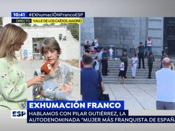 """Pilar Gutiérrez: """"Vamos a recurrir judicialmente que nos prohibieran rezar en la explanada"""""""