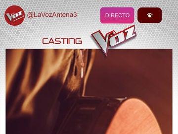 Antena 3 emitirá en directo los castings de 'La Voz' a través de Instagram
