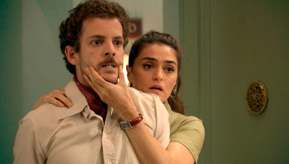 Vicky llega a tiempo de frenar una agresiva pelea entre Ortega y Javier
