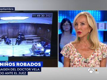 """Carmen Lomana: """"Me ofrecieron un niño en una clínica de Sevilla asegurando que su madre estaba conforme"""""""