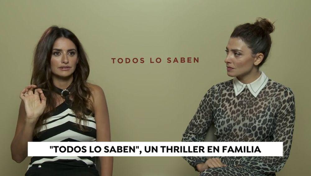 Javier Bardem y Penélope Cruz presentan 'Todos los saben', su nueva película juntos