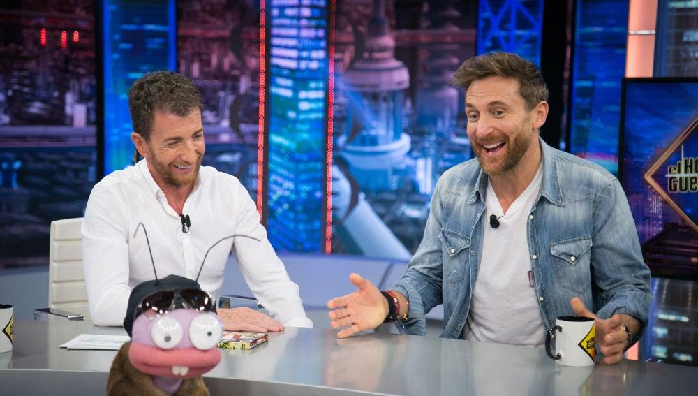 David Guetta responde a las preguntas más atrevidas de Trancas y Barrancas en el 'Test del DJ'