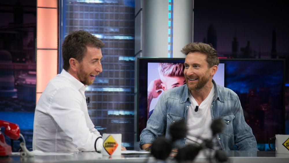 Pablo Motos, orgulloso de David Guetta en 'El Hormiguero 3.0'