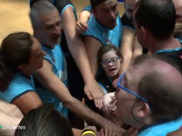 El equipo de la película 'Campeones' disputa el partido más especial