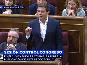 """Rivera acusa a Pedro Sánchez: """"Hay dudas razonables sobre su tesis doctoral"""""""