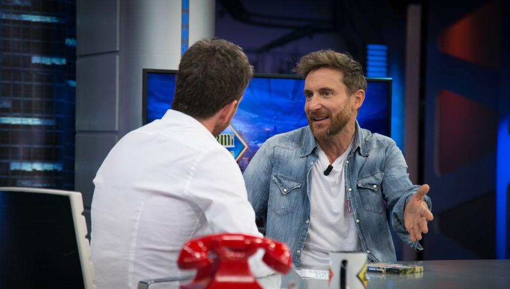 David Guetta desvela en 'El Hormiguero 3.0' los detalles de su colaboración con Justin Bieber