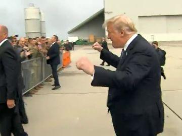 Duras críticas a Donald Trump por un gesto que realizó durante el homenaje a las víctimas del 11-S