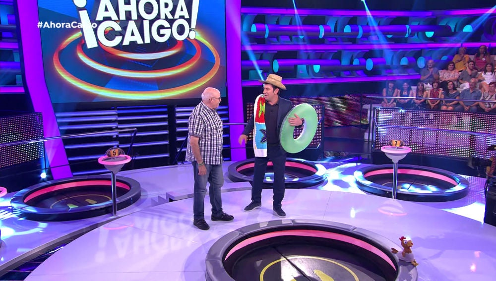 Arturo Valls pone en práctica a su sustituto