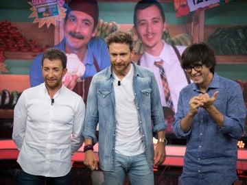 David Guetta adivina el truco del vídeo de Luis Piedrahita en 'El Hormiguero 3.0'